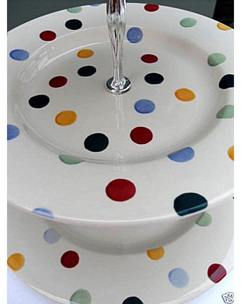 (OUT OF STOCK) EMMA BRIDGEWATER POLKA DOT CAKE STAND